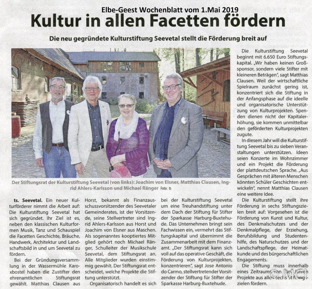 Elbe-Geest Wochenblatt vom 1.4.2019