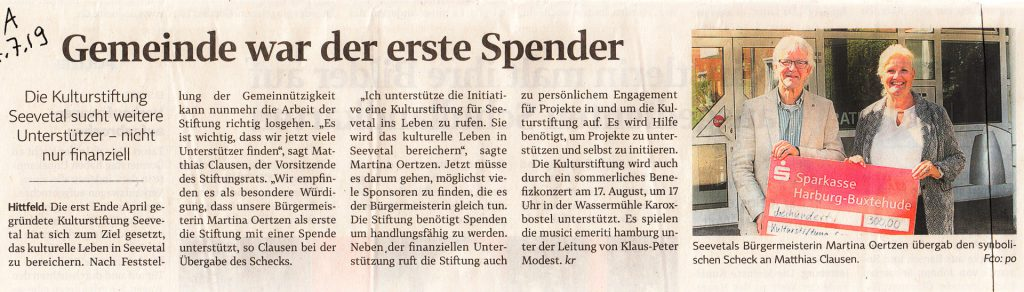 27.7.2019 Winsener Anzeiger