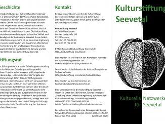 Der neue Flyer der Kulturstiftung Seevetal